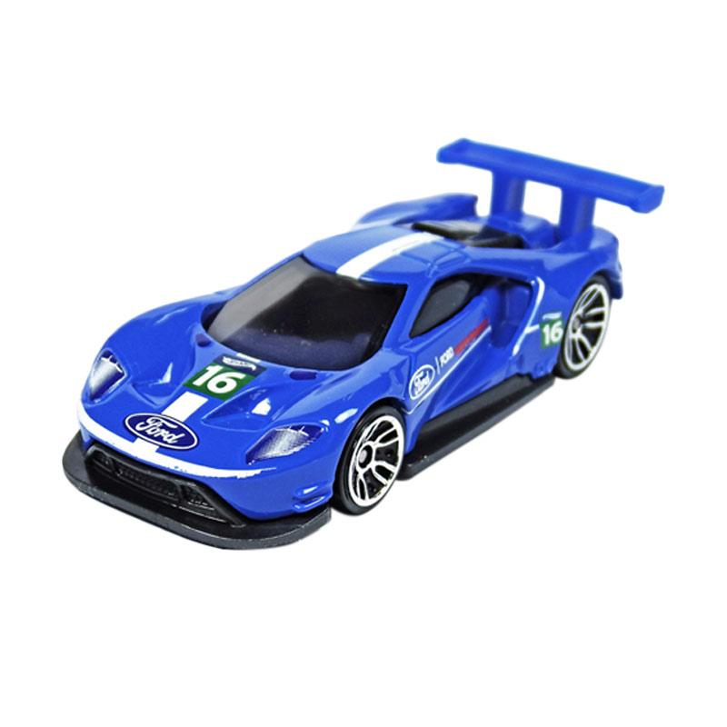 Hot Wheels  Ford Gt Racecast Blue
