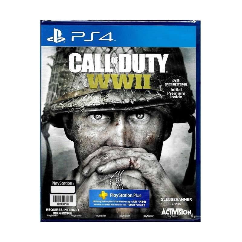 SONY PS4 Call of Duty WWII DVD Game