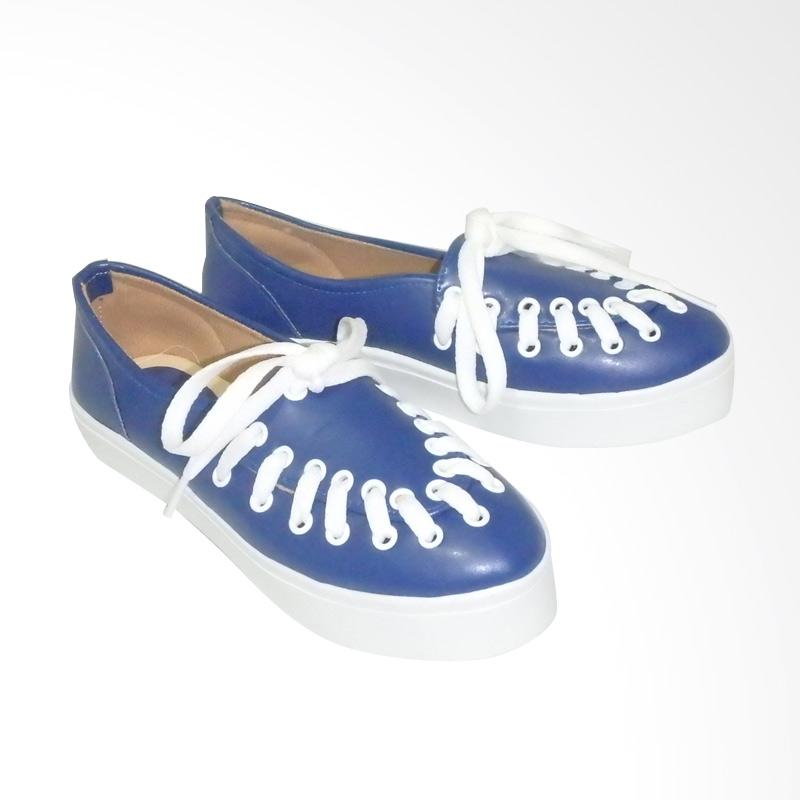 Anneliese Hani Sepatu Slip On Wanita - Blue