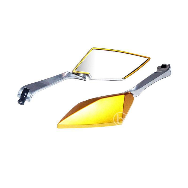 harga TAD TT Style Almini Kaca Spion Motor for Yamaha New Jupiter MX 135 - Gold Blibli.com