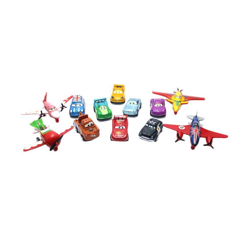 Yoyo Super Cars and Planes Set Mainan Mobil dan Pesawat [1:24]