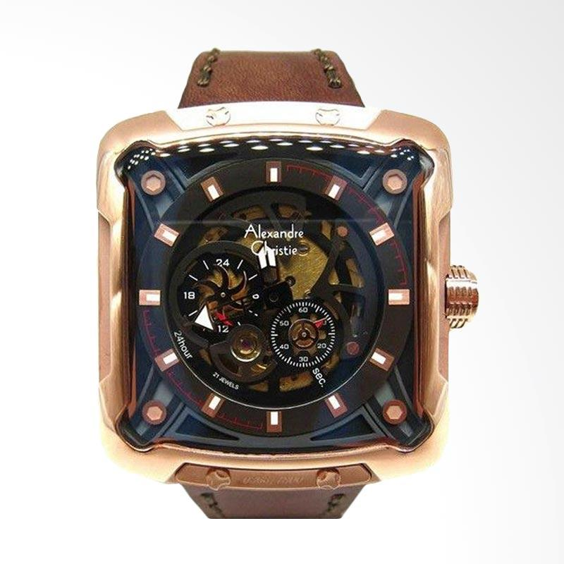 Alexandre Christie Automatic Limited Edition Jam Tangan Pria [AC 3030MARG]
