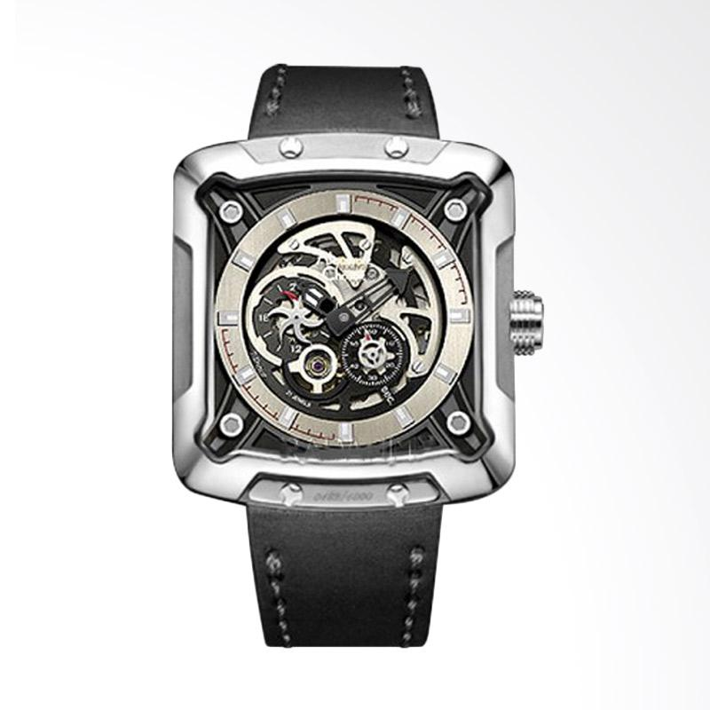 Alexandre Christie Automatic Limited Edition Jam Tangan Pria - Black [AC 3030MABS]