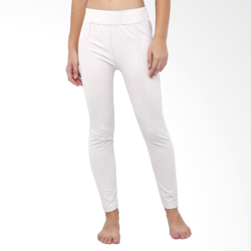 GT LADIES GTLG04 Pant With Pocket Celana Legging - White