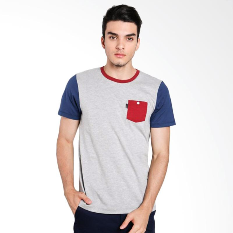 Greenlight Men 7011 T-shirt Pria - Blue