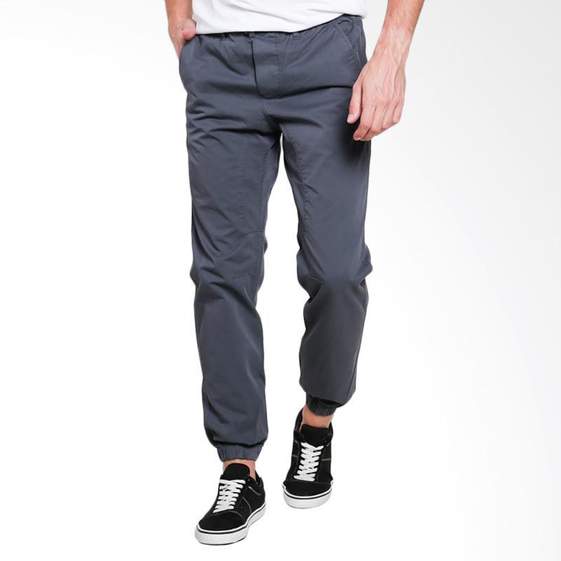 3SECOND 0711 Men Long Pants Celana Pria - Grey