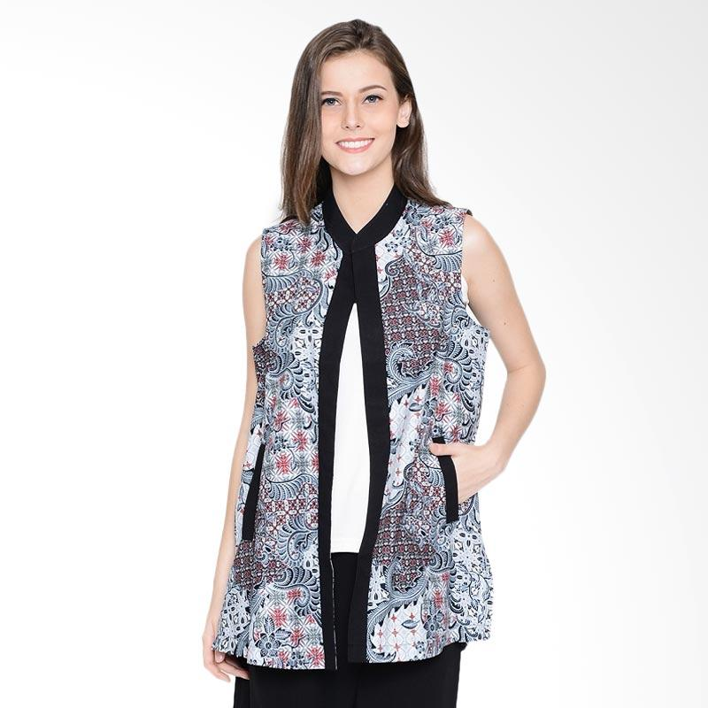 A&D Fashion Ms 948B Ladies Casual Cardigan Luaran Batik - Black