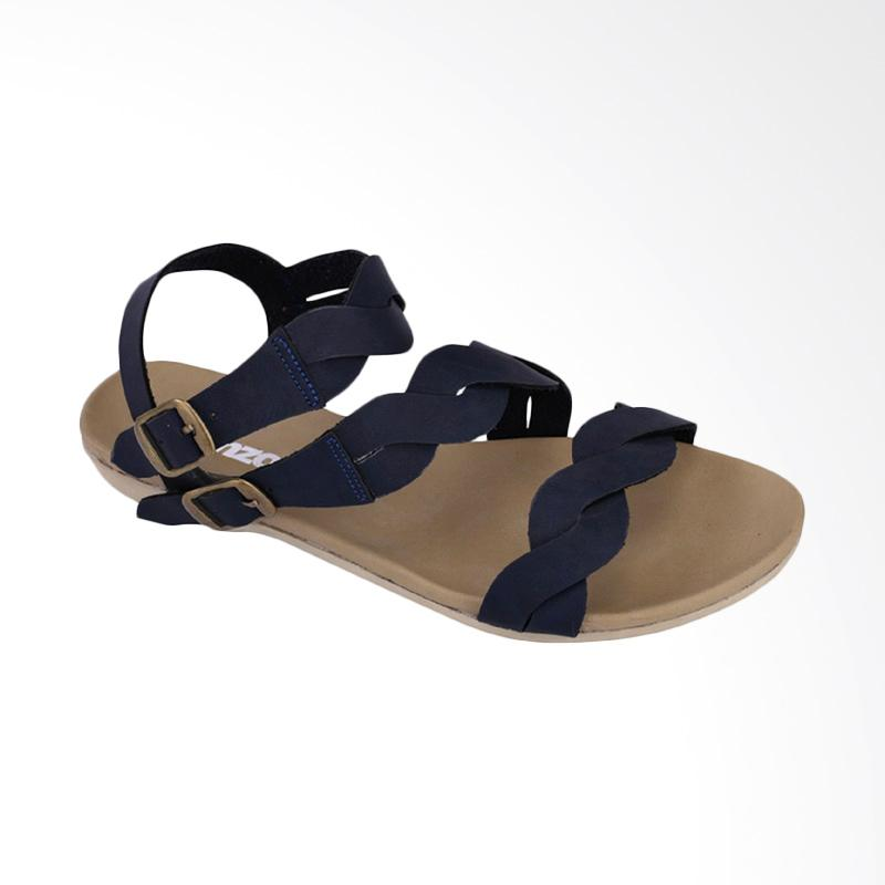 harga Catenzo Casual Sandal Flat Wanita - Biru Blibli.com