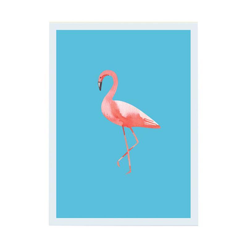 Cadrehome One Flamingo 5R Dekorasi Dinding