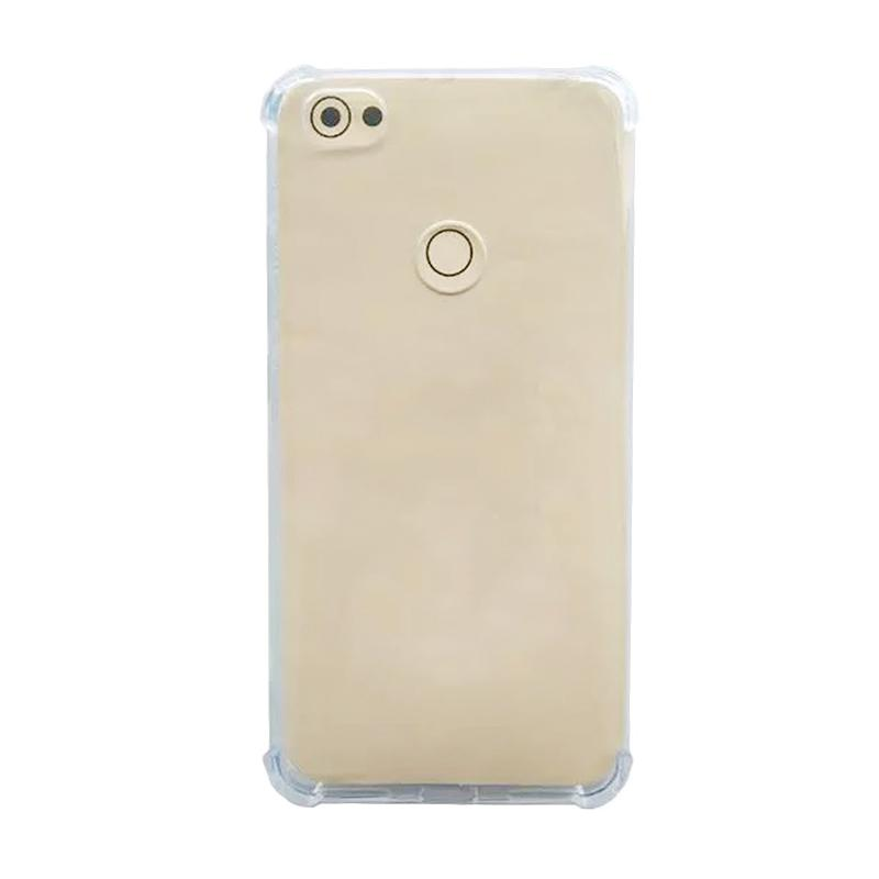 QCF BUY 1 GET 1 Softcase Anti Shock Anti Crack Xiaomi Silicone Ultrathin Casing for Xiaomi Redmi Note 5A - Transparan