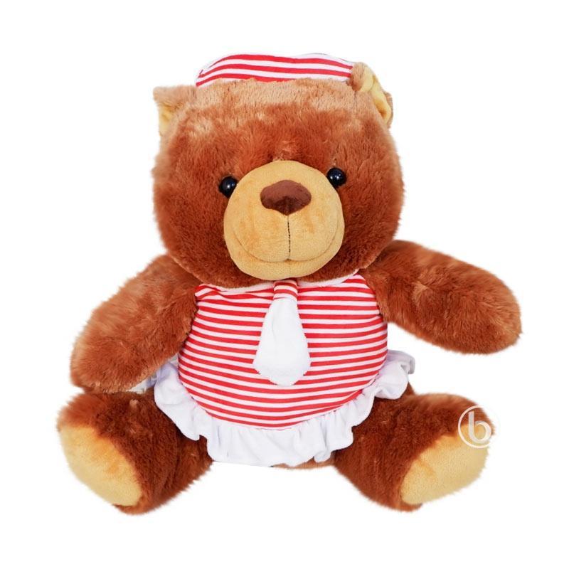 Istana Boneka Indo Bear Sailor Sit Plush Doll [24 Inch]