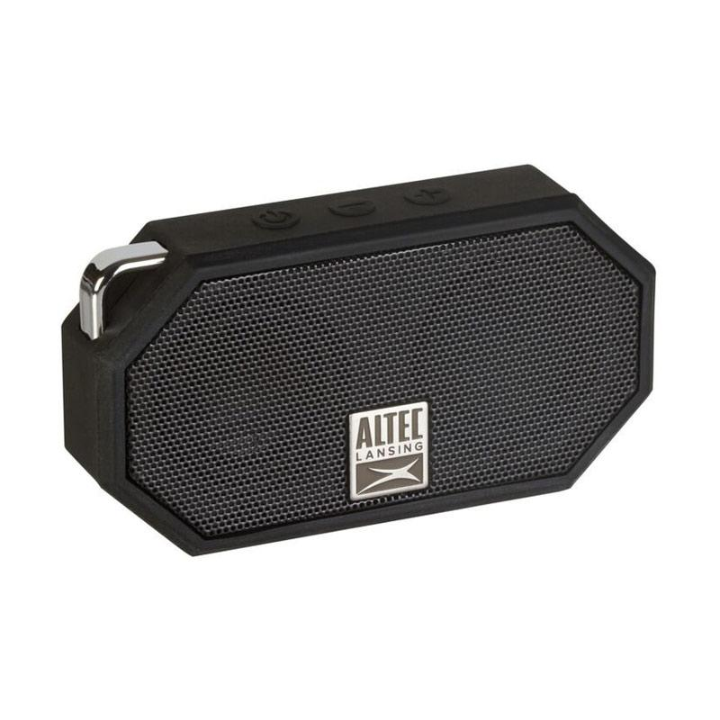 harga Altec Lansing Original IMW257 Mini H2O Waterproof Portable Speaker - Black Blibli.com