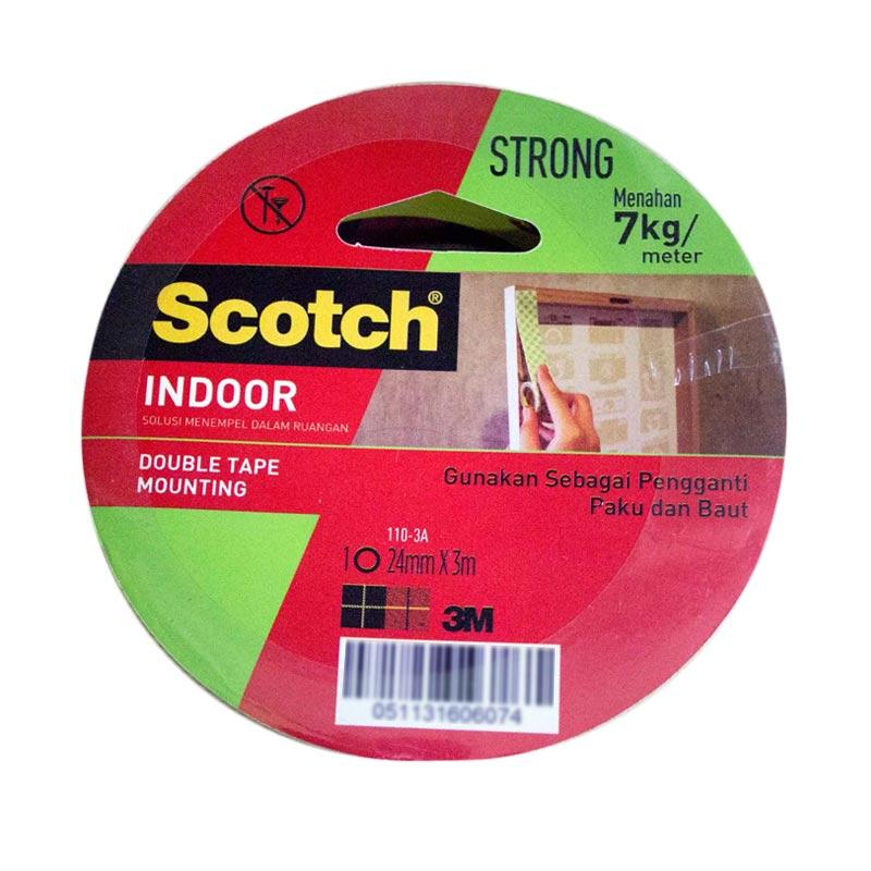 3M 110 - 3A Scotch Mounting Double Tape [24 mm x 3 mm]