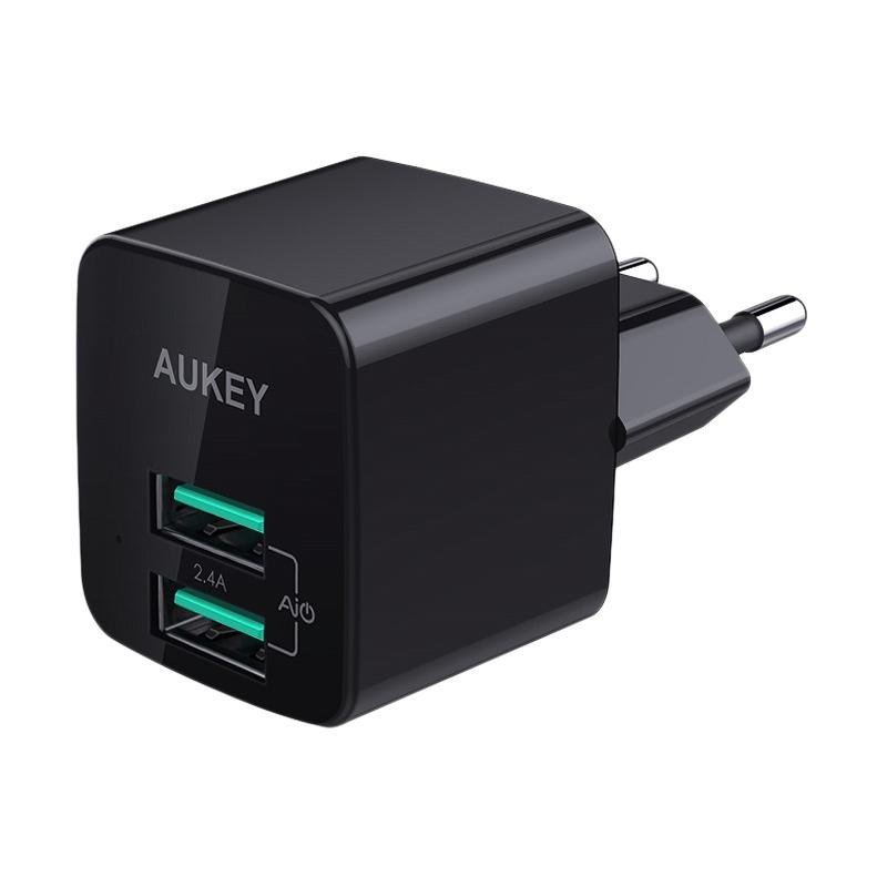 Aukey Charger 2 Port 12W with AiQ 500284