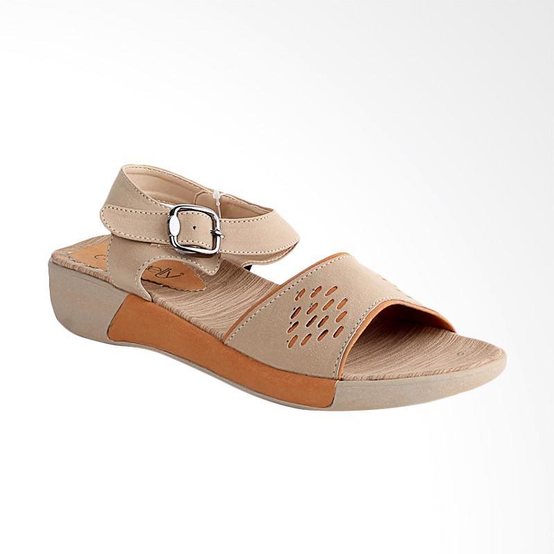 harga Blackkelly LTE423 Casual Sepatu Sandal Wanita - Cream Blibli.com