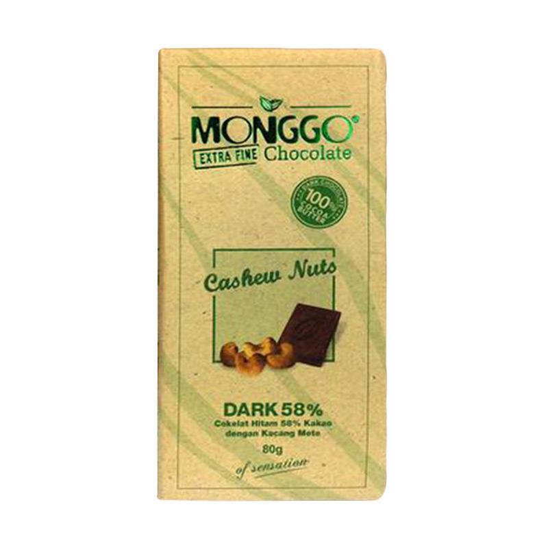 Jogjakhas Cokelat Monggo Rasa Kacang Mete [Cashew Nuts]