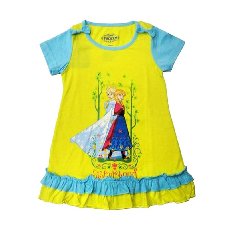 Disney Frozen Dress Anak - Kuning