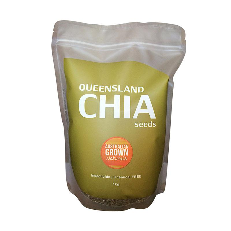 Chia Seeds Black AGN Australia Makanan Organik [1 kg]