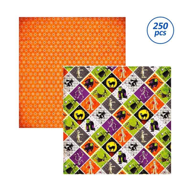 SP176 Scrapbooking paper - Spooky [25 Sheets/Bungkus/ 10 Bungkus/Package]