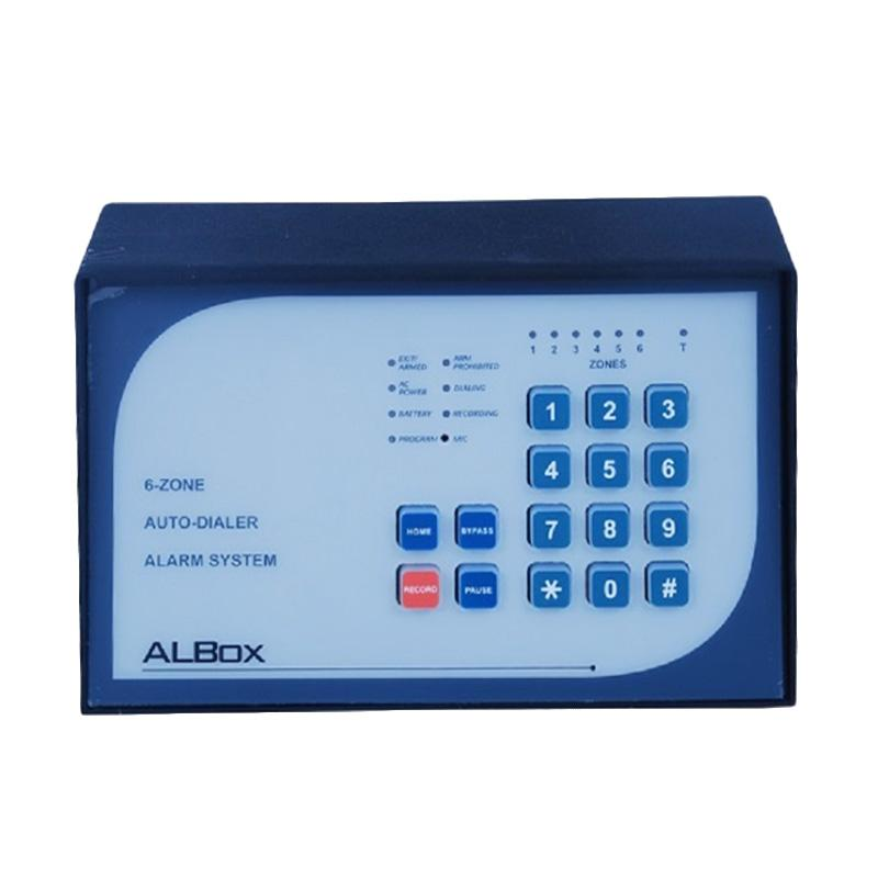ALBOX ACP611 6-Zone Alarm Control Panel with Power Supply 2A