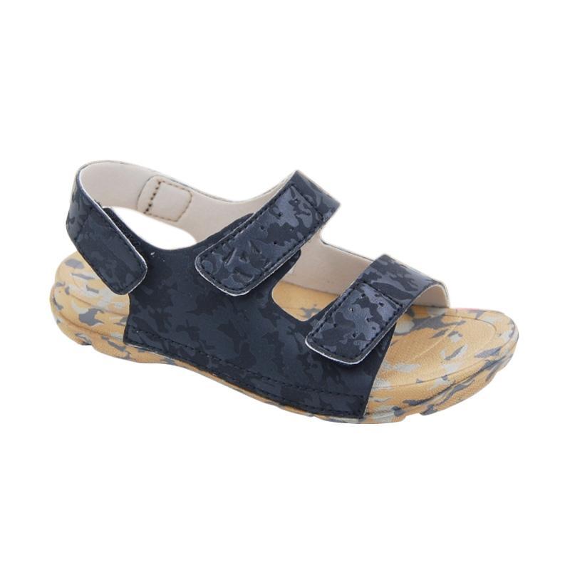 Toezone Kids Bali Ch Black Camo Sepatu Anak