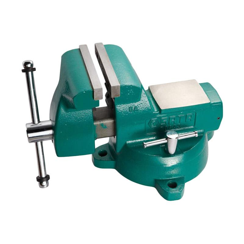 SATA Ragum 70841 Mechanics Bench Vice - Green [4 Inch]