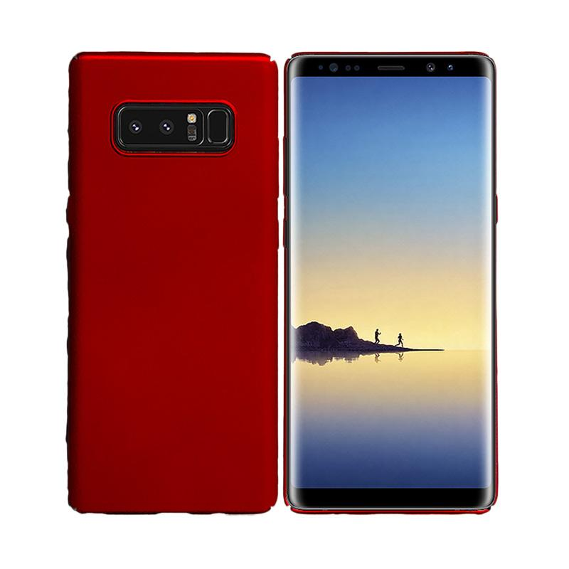 OEM BABY Skin Ultrathin Hardcase Casing for Samsung Note 8 - Red