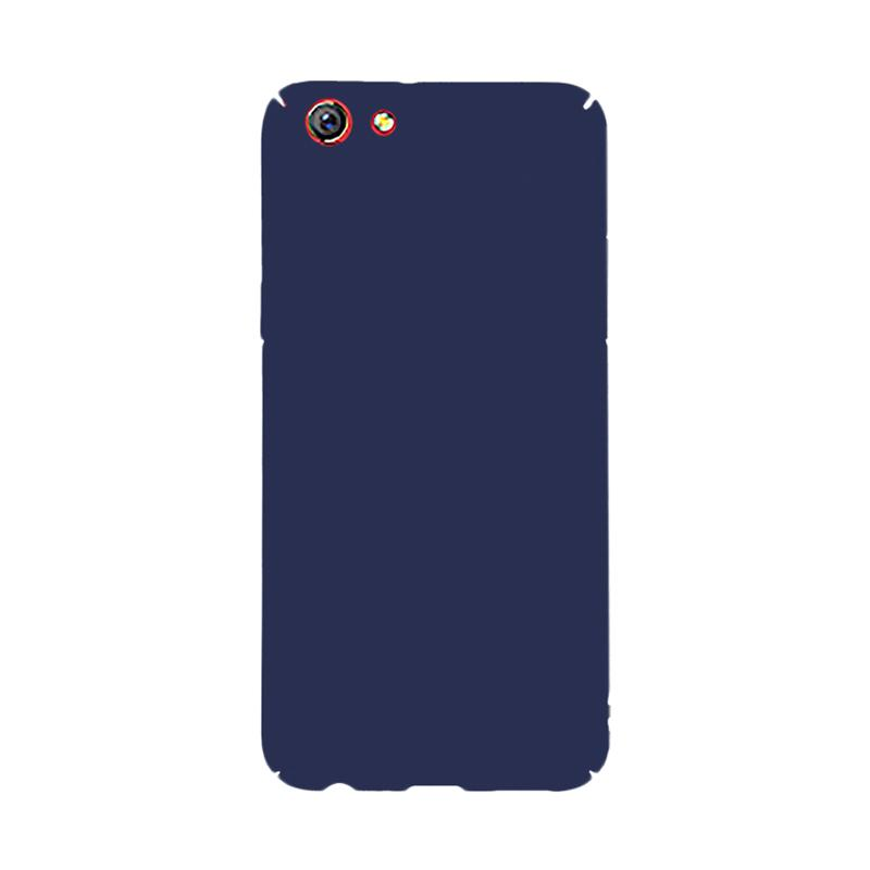 OEM Baby Skin Ultra Thin Hardcase Casing for Oppo F3 Plus - Blue Navy