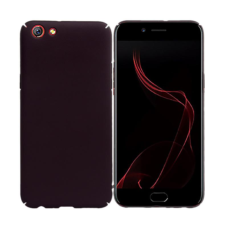 OEM Baby Skin Ultra Thin Hardcase Casing for Oppo F3 Plus - Black