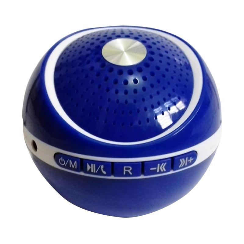Advance ES030R Mini Portable Support Handsfree Bluetooth Speaker - Biru