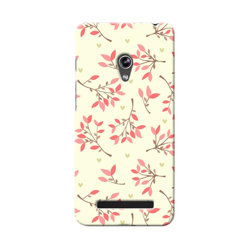 Premiumcaseid Case Cute Floral Seamless Shabby Hardcase Casing for Asus Zenfone 5
