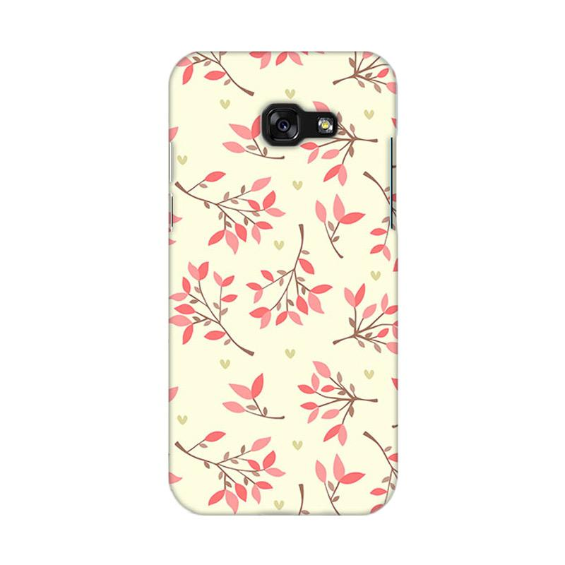 Premiumcaseid Cute Floral Seamless Shabby Hardcase Casing for Samsung Galaxy A5 2017