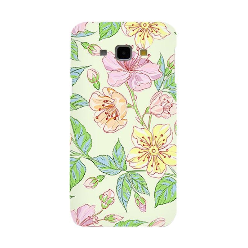 Premiumcaseid Beautiful Flower Wallpaper Hardcase Casing for Samsung Galaxy A8