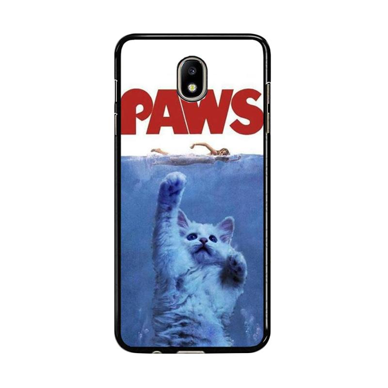 Flazzstore Paws Ovie Parody Funny Cat Attack F0586 Custom Casing for Samsung Galaxy J7 Pro 2017