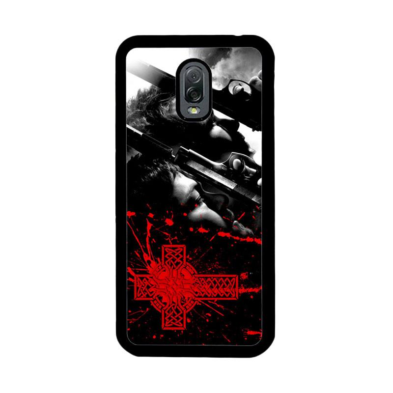 Flazzstore Boondock Saint Movies Series Z0346 Custom Casing for Samsung Galaxy J7 Plus