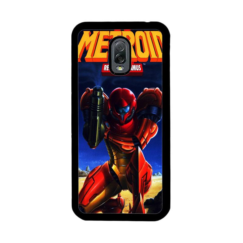 Flazzstore Metroid Video Games Z1109 Custom Casing for Samsung Galaxy J7 Plus