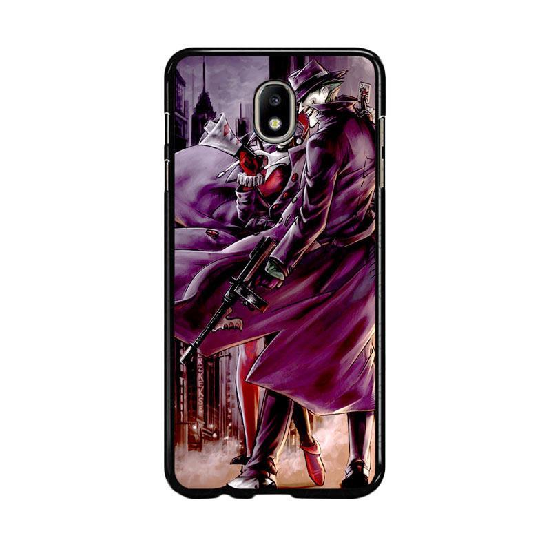Flazzstore Joker And Harley Quinn Art Z0029 Custom Casing for Samsung Galaxy J7 Pro 2017