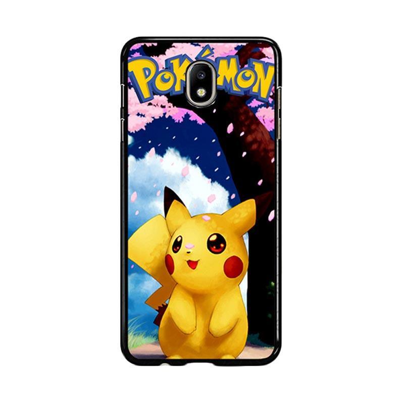 Flazzstore Awesome Sakura Sweet Pikachu Pokemon F0324 Custom Casing for Samsung Galaxy J5 Pro 2017