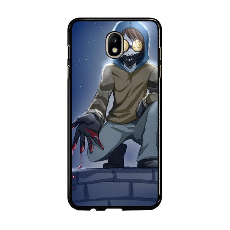Flazzstore Creepypasta Ticci Toby F0384 Custom Casing for Samsung Galaxy J5 Pro 2017