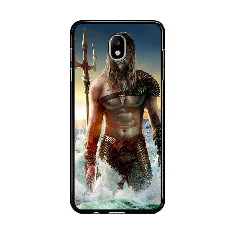 Flazzstore Jason Momoa As Aquaman Z0582 Custom Casing for Samsung Galaxy J7 Pro 2017