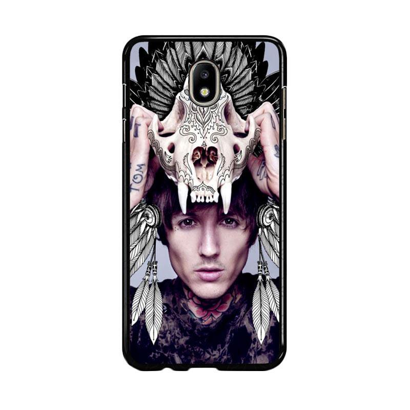 Flazzstore Oliver Sykes Skull Head Z0275 Custom Casing for Samsung Galaxy J5 Pro 2017