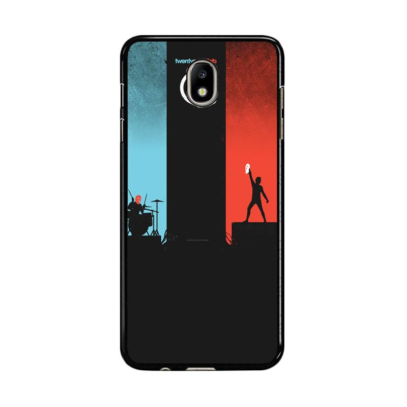 Flazzstore Twenty One Pilots Red And Blue Z0984 Custom Casing for Samsung Galaxy J7 Pro 2017