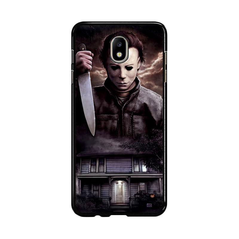 Flazzstore Michael Myers Halloween Z1319 Custom Casing for Samsung Galaxy J7 Pro 2017