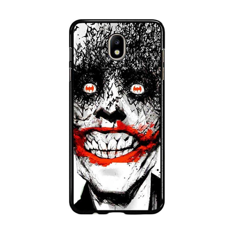 Flazzstore Creepy Smile Face Joker Z0981 Custom Casing for Samsung Galaxy J5 Pro 2017