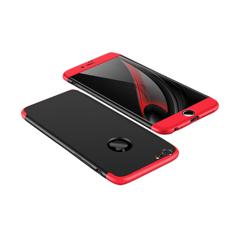 OEM 360 Full Protective 3 in 1 Hardcase Casing for iPhone 6 or 6s - Black Red