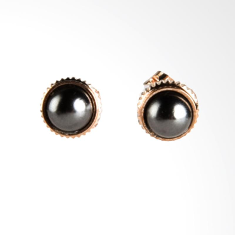 1901 Jewelry Little Black Studs 2510 GW.2510.HR43 Giwang Women Earrings - Multicolor