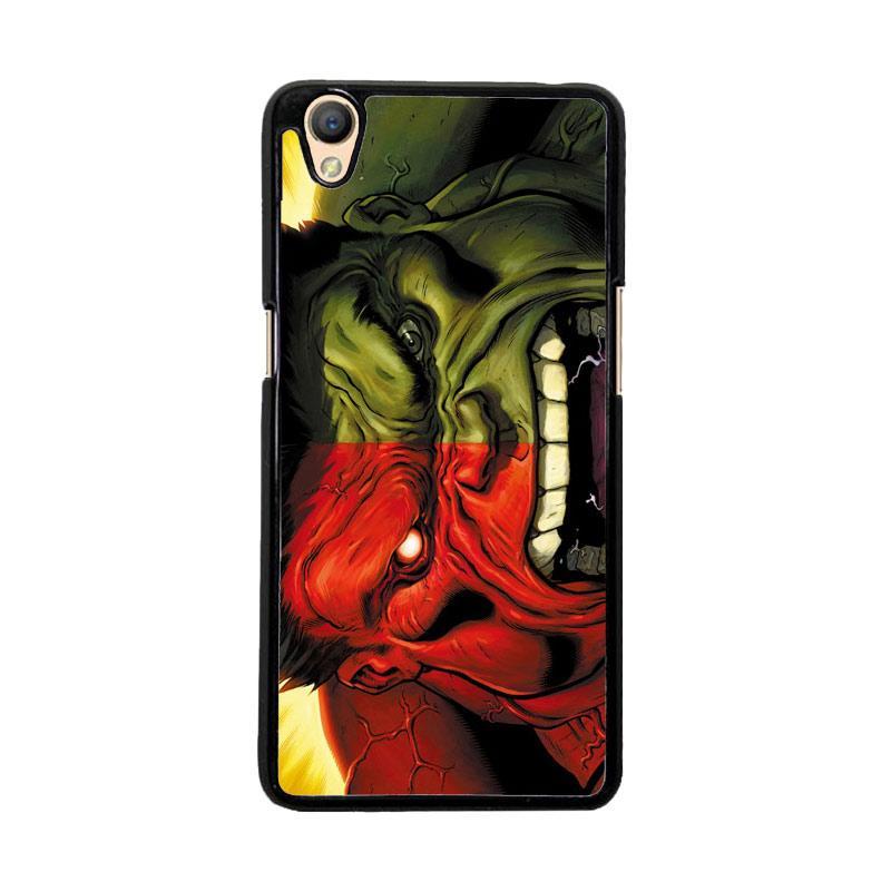 Flazzstore Red Hulk Vs Green Hulk F0212 Custom Casing for Oppo Neo 9 or Oppo A37