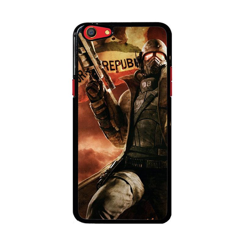 Flazzstore Fallout New California Republic Z1240 Custom Casing for Oppo F3