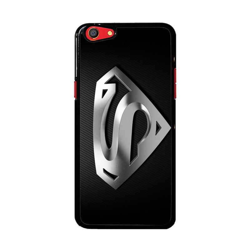 Flazzstore Superman Silver Logo Z1291 Custom Casing for Oppo F3