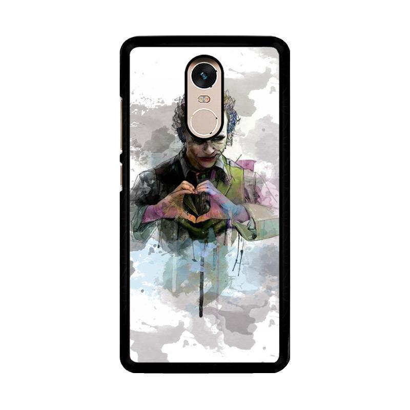 Flazzstore Joker Water Colour O0455 Custom Casing for Xiaomi Redmi Note 4 or Note 4X Snapdragon Mediatek